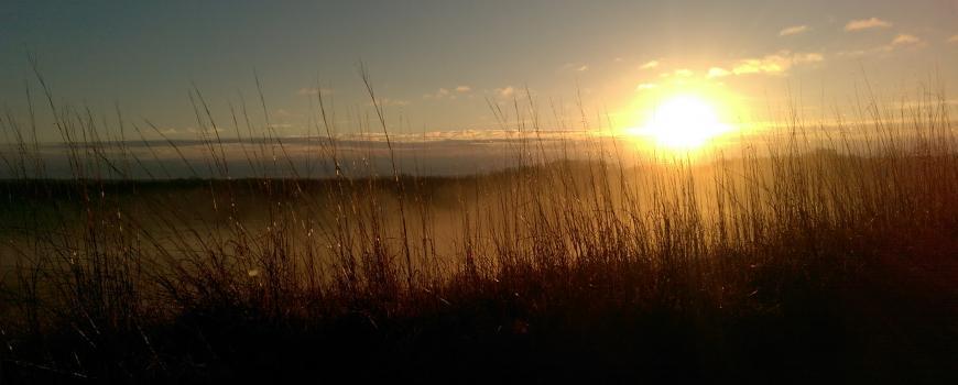 Solstice Sunrise over the Geiger Prairie, 2015